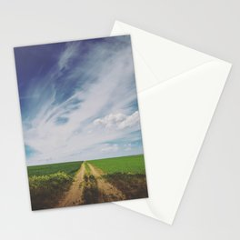 Under the Skies of Blue Stationery Cards