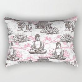 buddha pattern Rectangular Pillow