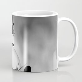 dreaming of mooncats bw -1- Coffee Mug