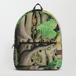 1925 Classical Masterpiece 'Hansel and Gretel by Brothers Grimm' by Kay Nielsen Backpack