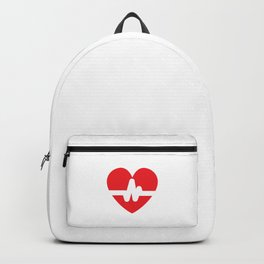 Heart Transplant Survivor Open-Heart Recovery Gift Backpack