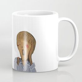Edvard Munch I am your father Coffee Mug