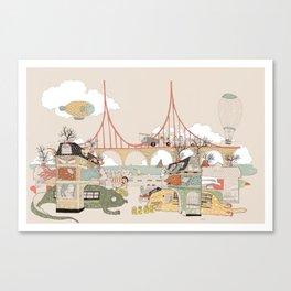 City of Animamaly Canvas Print