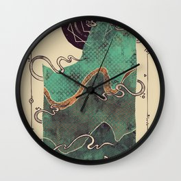Northern Nightsky Wall Clock