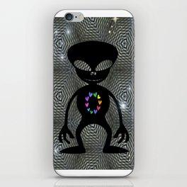 Alien Love Zone iPhone Skin