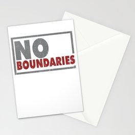 No boundaries Stationery Cards