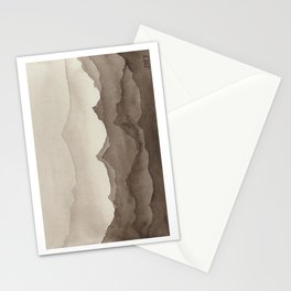 Watercolour Desert Mountain Landscape Stationery Cards