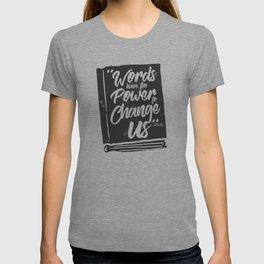 Words Have Power - Clockwork Princess T-shirt