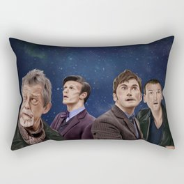 The Day of the Doctor Rectangular Pillow
