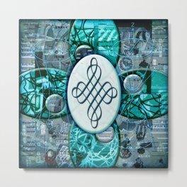 Jackie (#TheAccessoriesSeries) Metal Print