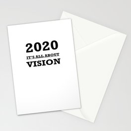 2020 Its All About Vision Eye Chart Stationery Cards