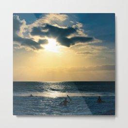 E ala mai o loko i ke kuhohonu o ke Aloha Kamaole Beach Metal Print
