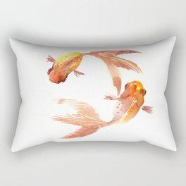 Goldfish Feng Shui, Koi Fish Rectangular Pillow
