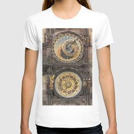The Prague Astronomical Clock photo T-shirt