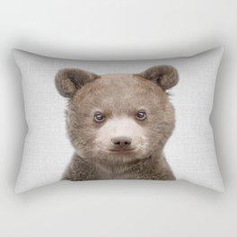 Baby Bear - Colorful Rectangular Pillow