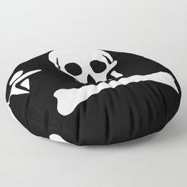 Stede Bonnet Pirate Flag Jolly Roger Floor Pillow