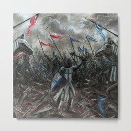 Field of Battle Metal Print