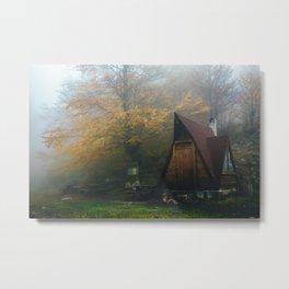 Wooden shack Metal Print