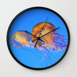 Chrysaora Wall Clock