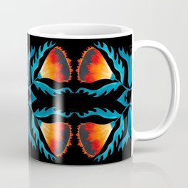 Floral symmetry 2. Coffee Mug