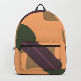 Abstract Tribal Style Modern Art Bold Graphic Design Background GC-117-12 Backpack