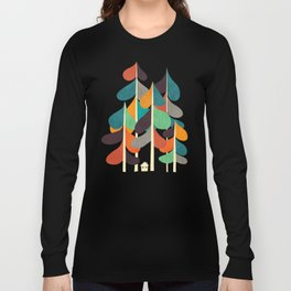 Cabin in the woods Langarmshirt