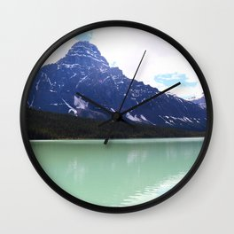 Waterfowl Lake Wall Clock