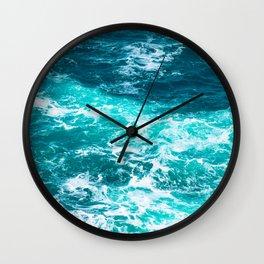 Marble Ocean - Ocean Photography Wall Clock