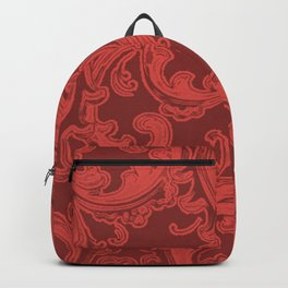 Retro Chic Swirl Grenadine Backpack