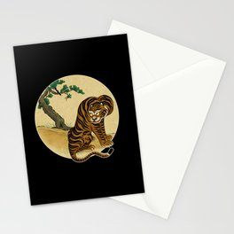 Tiger with magpie type-B : Minhwa-Korean traditional/folk art Stationery Cards