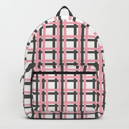 Seamless  geoetric pattern and background Backpack