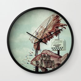 Seafood Wall Clock