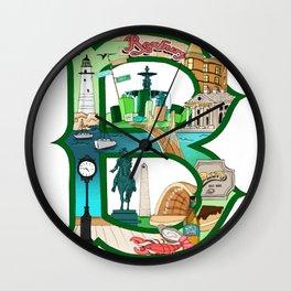 BSTN Wall Clock