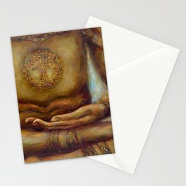"""Touching the Earth Mudra"" Stationery Cards"