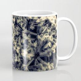 Black and White Lilac Flower Modern Cottage Art A426 BW Coffee Mug