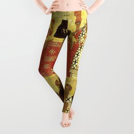Triumph Of Orthodoxy Medieval Christianity Leggings