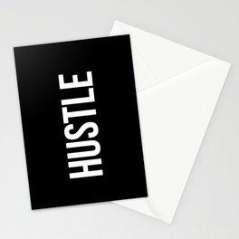 HUSTLE (Black & White) Stationery Cards