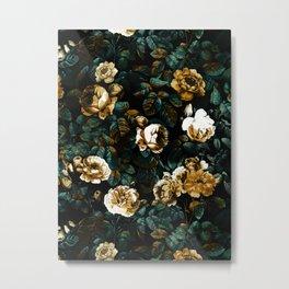 ROSE GARDEN - NIGHT Metal Print