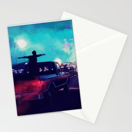 the perks of being a wallflower poster Stationery Cards