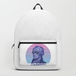 Vintage Retro Alexander Hamilton Musical Funny Patriotic Gift Backpack