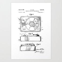Turntable Patent Kunstdrucke