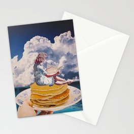 Pancake morning Stationery Cards