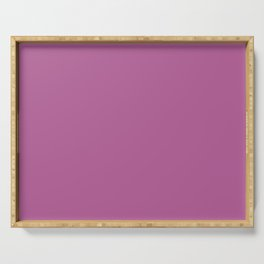 Dunn & Edwards 2019 Curated Colors Brandywine (Pinkish Purple) DE5005 Solid Color Serving Tray