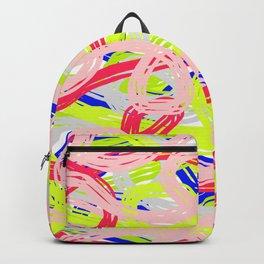 Rainbow Spaghetti 01 Backpack