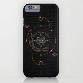 Tarot geometric #3: North star iPhone Case