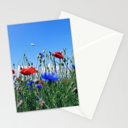 poppy flower no12 Stationery Cards
