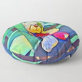 Teddy Bear Floor Pillow