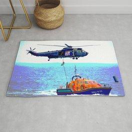 Helicopter Lifeline Rug
