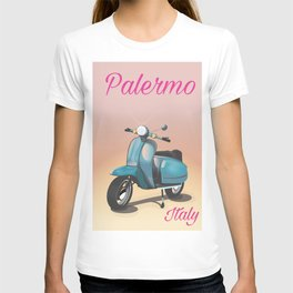 Palermo Italy travel poster T-shirt