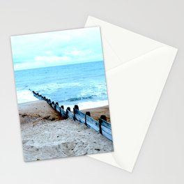 Outlook over the North Sea Stationery Cards